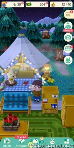 Animal Crossing - Le Camping