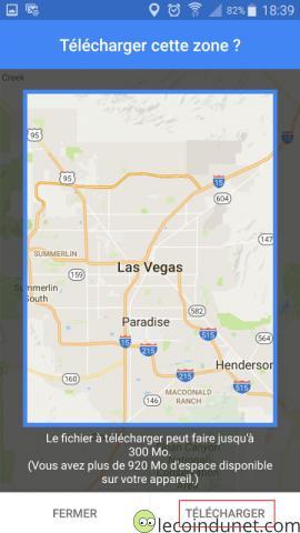 Google Maps - Ajuster zone
