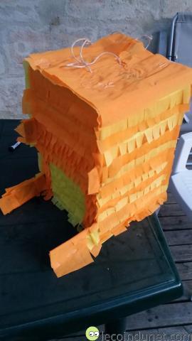 Pinata - Recouverte papier crépon