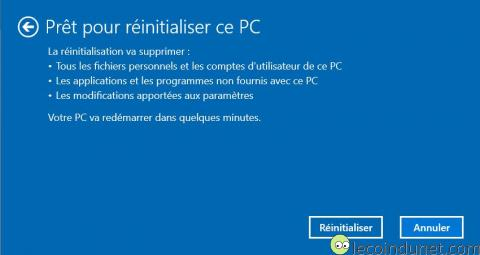 Windows 10 - Supprimer tout confirmation
