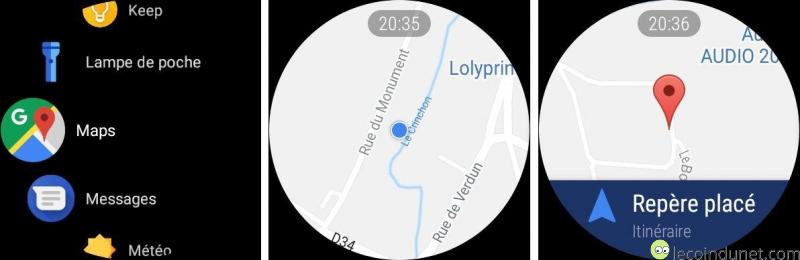 Google Maps - Android Wear