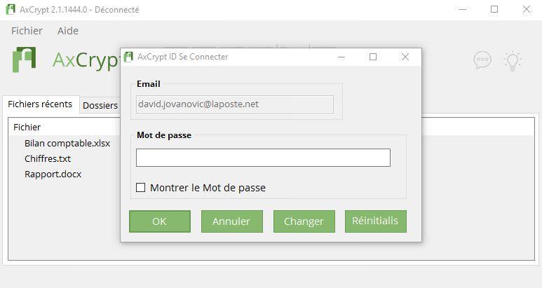 Mettre un mot de passe sur un dossier partagé windows 7