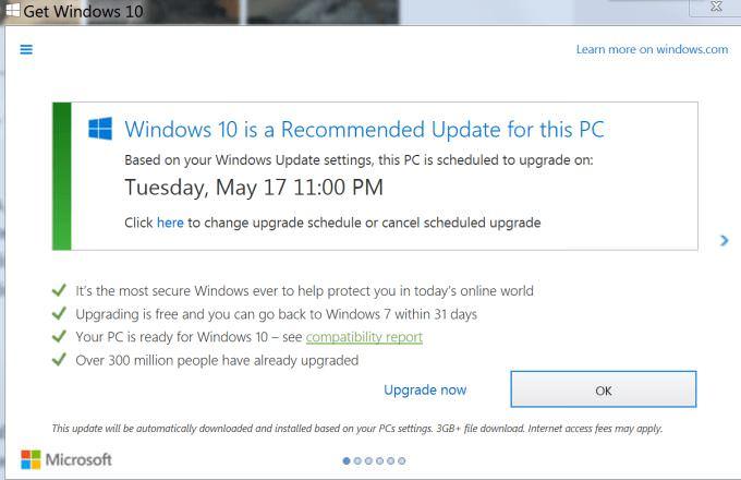 Supprimer les notifications de mise jour vers windows 10 for Supprimer les vers